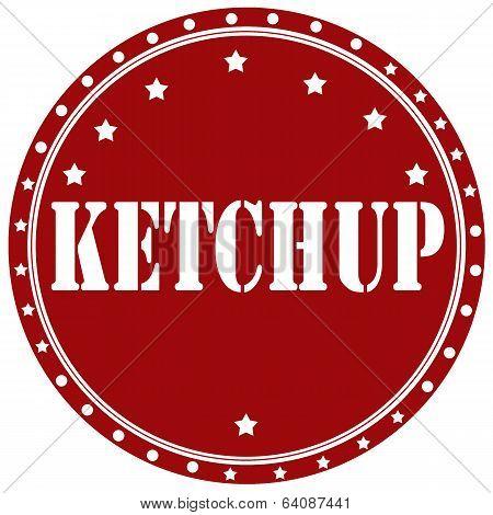 Ketchup-label
