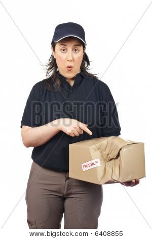 Delivering A Damaged Package