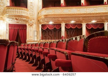theatralische Sessel