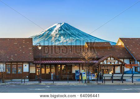 Kawaguchiko Station in Japan