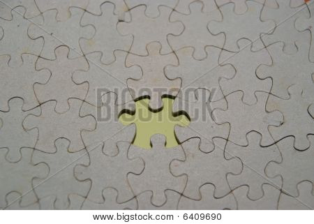 Jigsaw Green Piece Missing