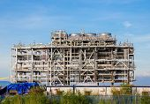 pic of lng  - Liquefied natural gas Refinery Factory with LNG storage tank using for Oil and gas industry - JPG