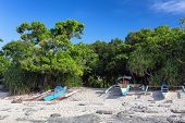 stock photo of camiguin  - Small white sand Mantigue island in Philippines - JPG