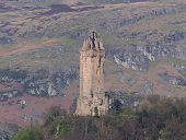 stock photo of braveheart  - wallace monument  - JPG