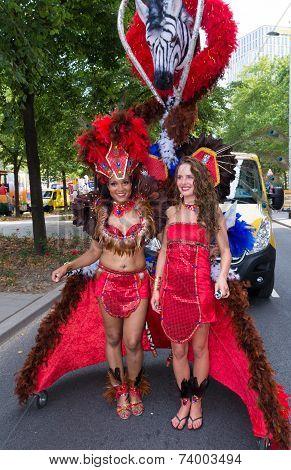 Carnival Parade In Rotterdam