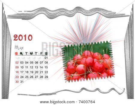 2010 May Calendar