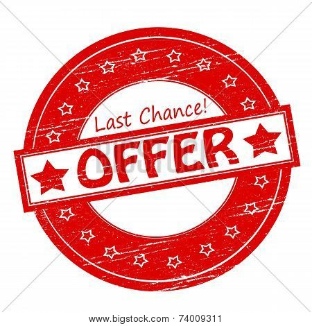 Last Chance Offer