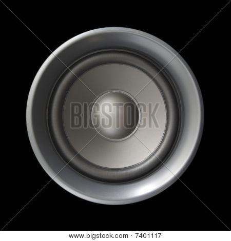 Big Speaker Isolated