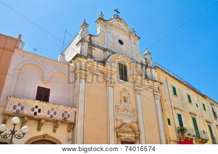 Church of Purgatory. Fasano. Puglia. Southern Italy.