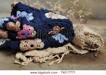 Granny Square Flower Blanket