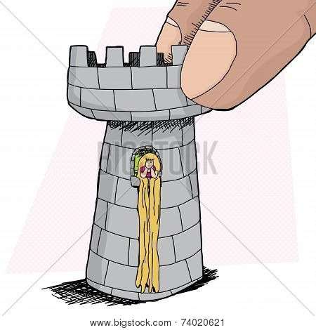 Rapunzel In Rook Piece