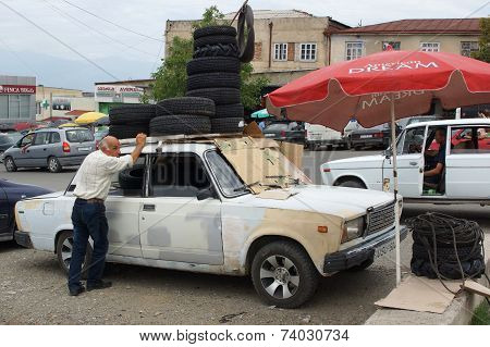 Tire Trader, Telawi, Georgia