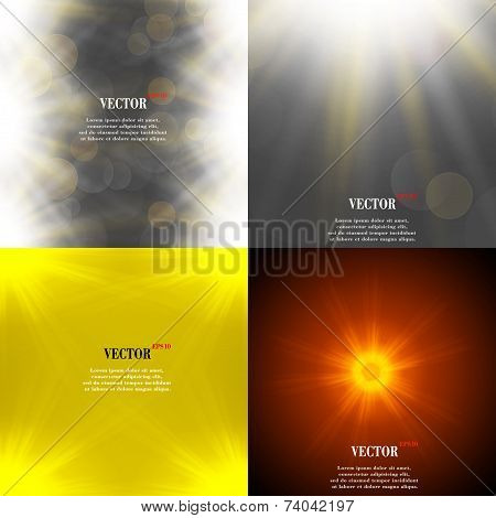 Summer sun light burst. If you enjoy the hot and glittering summer sun, that is background with spac