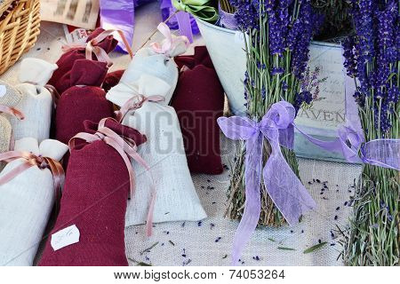 Lavender filled bags