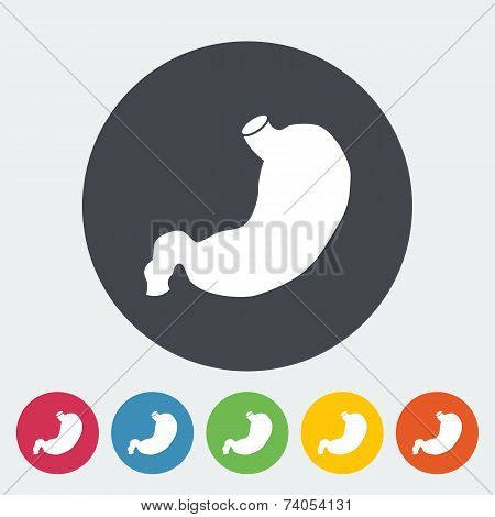 Stomach icon.