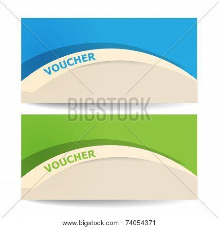 Gift certificate voucher