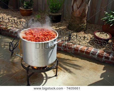 Crawfish Boiling