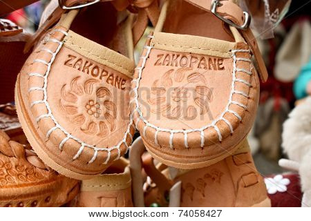 Souvenir Leather Shoes