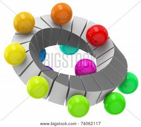 Colorful circulation