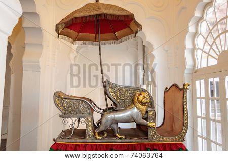 Seats Called Hawdhas Used On Top Of Elephants
