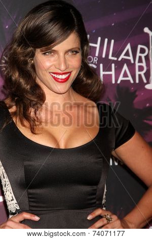LOS ANGELES - OCT 17:  Noa Tishby at the Hilarity for Charity Benefit for Alzheimer's Association at Hollywood Paladium on October 17, 2014 in Los Angeles, CA
