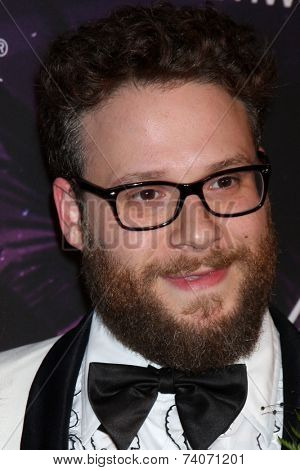 LOS ANGELES - OCT 17:  Seth Rogen at the Hilarity for Charity Benefit for Alzheimer's Association at Hollywood Paladium on October 17, 2014 in Los Angeles, CA