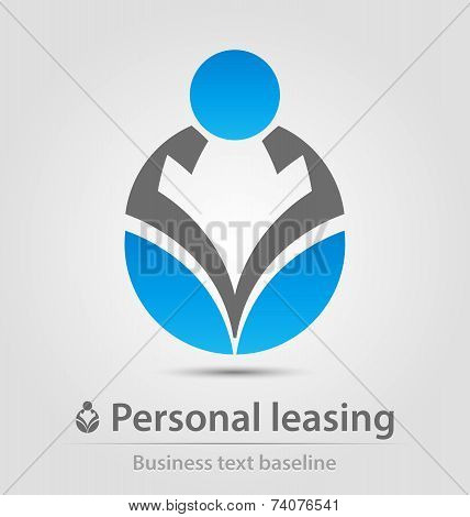 Personal Leasing Business Icon
