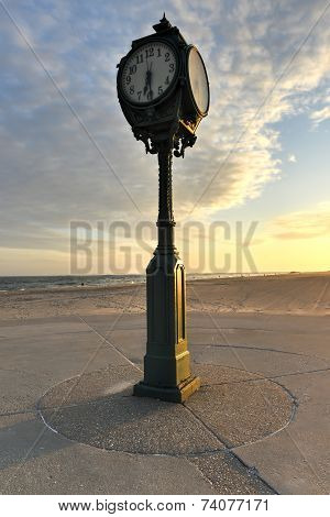 Antique Clock, Jacob Riis Park, Rockaway, Queens