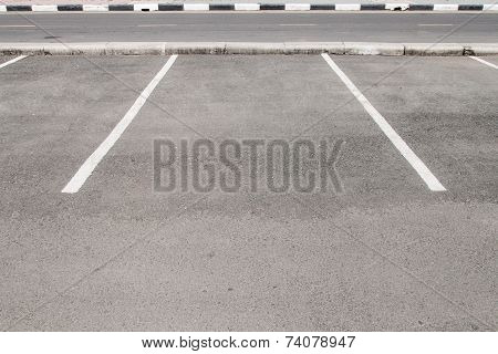 Empty Space In A Parking