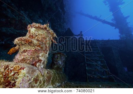deep wreck diving
