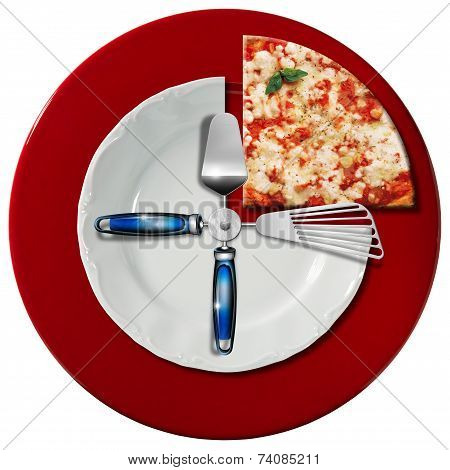 Pizza Time Concept