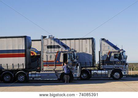 An Australian Truck Turning