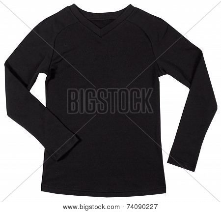 Men's shirt isolated on white background.
