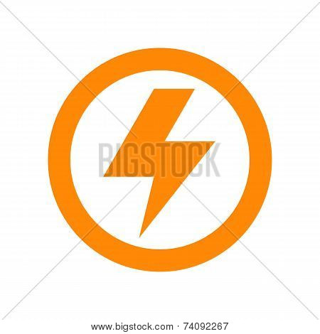 Lightning Bolt Sign