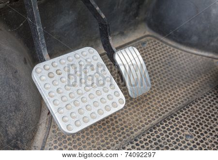auto brake pedal