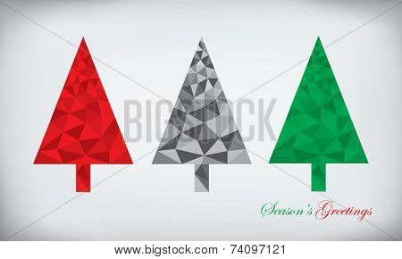 Polygonal Christmas Tree Set