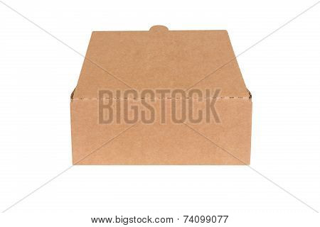 Open Shipping Cardboard Box Isolated