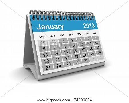 Calendar 2013 - January