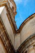 foto of neoclassical  - neoclassical facade of Santo Domingo de Silos Abbey - JPG