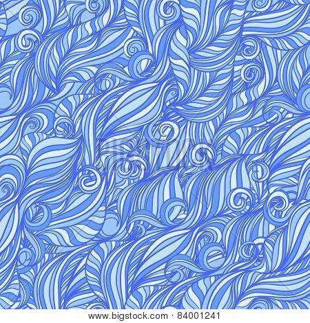 Blue Line Waves