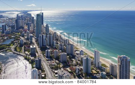 Surfers Paradise On The Beautiful Gold Coast, Australia