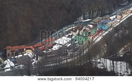 Cultural and ethnographic center My Russia in Rosa Khutor