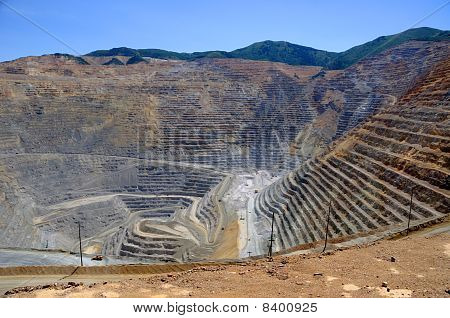Bingham Kennecott Copper Mine