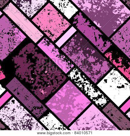 Grunge pink pattern.