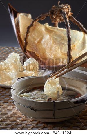 Fish Maw Soup Table Set