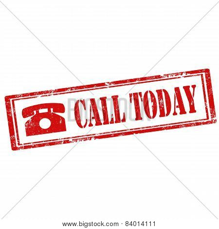 Call Today-stamp