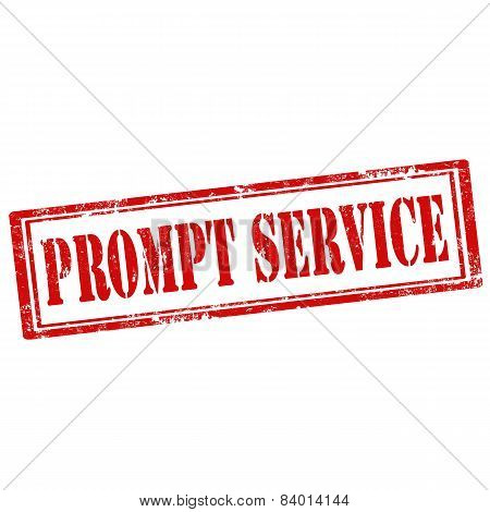 Prompt Service-stamp