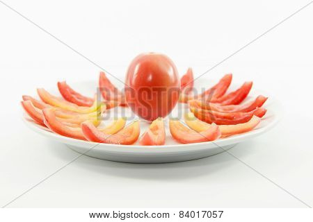Tomatoes Diet Snack With Raw Material