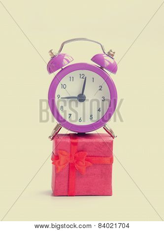 Retro Alarm Clock And Gift