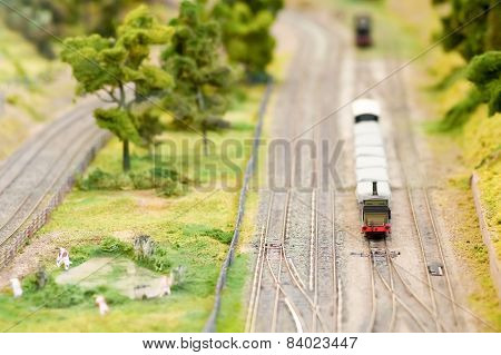 Model Freight Train